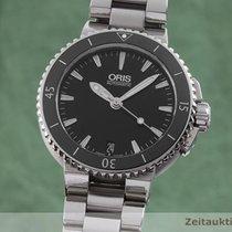 Oris 0173376524154-0781801P Zeljezo Aquis Date 36mm rabljen