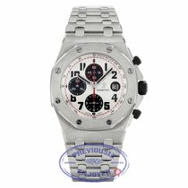 Audemars Piguet Royal Oak Offshore Chronograph Steel 42mm Silver Arabic numerals