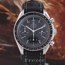 Omega Speedmaster Reduced Zeljezo 39mm Crn Bez brojeva