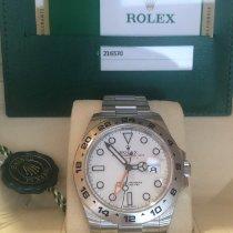 Rolex Explorer II nuevo 2019 Automático Reloj con estuche y documentos originales 216570-0001