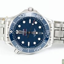 Omega Seamaster Diver 300 M Steel 42,00mm Blue No numerals