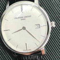 Frederique Constant Slimline Automatic Steel 40mm White No numerals