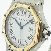 Cartier Acero y oro 31mm Automático Santos (submodel) usados Argentina, buenos aires