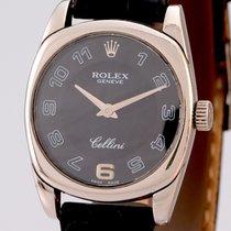 Rolex Cellini Danaos White gold 25mm Black Arabic numerals