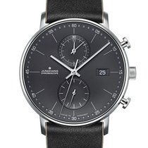 Junghans FORM C new Quartz Chronograph Watch with original box and original papers 041/4876.00