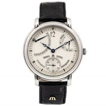 Maurice Lacroix pre-owned Manual winding 43mm Silver Sapphire crystal 3 ATM