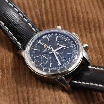 Breitling Transocean Chronograph 38 Steel Black