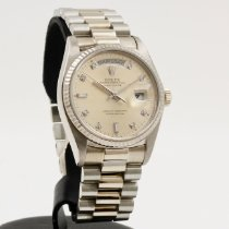 Rolex 18039 White gold 1982 Day-Date 36 36mm pre-owned