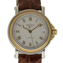 Paul Picot Reloj de dama 34mm Automático nuevo Reloj con estuche y documentos originales 2012