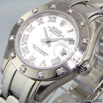 劳力士 Lady-Datejust Pearlmaster 80319 二手