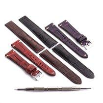 Omega Speedmaster Seamaster crocodile alligator leather straps