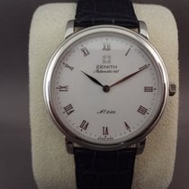 Zenith Platinum Automatic pre-owned Elite Ultra Thin