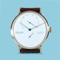 NOMOS Lambda Steel 39mm White No numerals