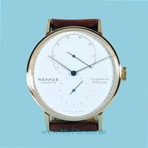 NOMOS Steel Manual winding White No numerals 39mm new Lambda