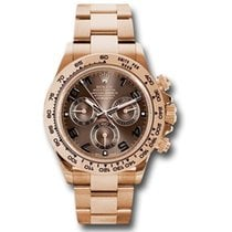 Rolex Daytona Rose gold 40mm Champagne Arabic numerals