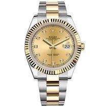 勞力士 (Rolex) Datejust II Steel and Yellow Gold Champagne Dial 41mm