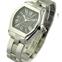 Cartier W62041V3 Roadster 43mm Automatic in Stainless Steel -...