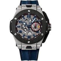 Hublot Big Bang Ferrari neu Automatik Chronograph Uhr mit Original-Box und Original-Papieren 401.NJ.5123.VR.TEX16