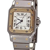 Cartier Santos (submodel) Gold/Steel 24mm White Roman numerals United States of America, Florida, Plantation