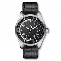 IWC Pilots Watch Worldtimer  Black Dial Automatic IW326201...