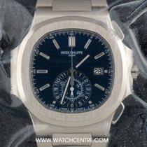 Patek Philippe 18k W/G 40th Anniversary Ltd Ed Nautilus...
