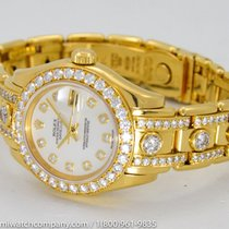 """Rolex """"MasterPiece 80298"""" Watch - 18k Gold & All..."""