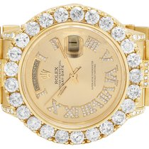 Rolex Mens 18K Yellow Gold Rolex President 36MM 18038 Day-Date...