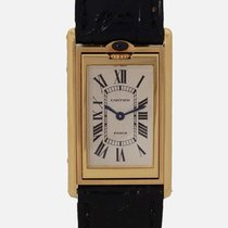 Cartier Yellow gold 37mm Manual winding 90 pre-owned
