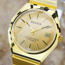 Benrus Swiss Made Benrus Luxury Automatic Gold Plated Watch...