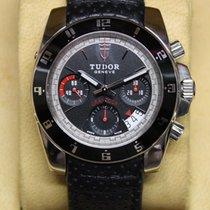 Tudor Grantour Chrono Zeljezo Crn Bez brojeva