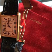 Cartier W1529756 Yellow gold Tank Louis Cartier 26mm pre-owned United States of America, New York, New York