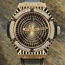 Hublot Big Bang Caviar 41mm Factory Diamond 18k Rose Gold