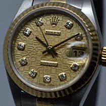 Rolex Lady-Datejust μεταχειρισμένο 26mm Χρυσός / Ατσάλι