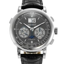 A. Lange & Söhne 41mm Manual winding 2015 pre-owned Datograph Grey