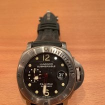 Panerai Luminor Submersible gebraucht 44mm Titan