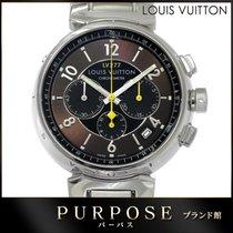 Louis Vuitton Chronograaf 41mm Automatisch tweedehands Bruin