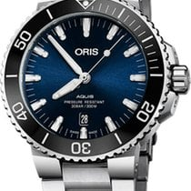 Oris Aquis Date Steel 43.5mm Blue United States of America, New Jersey, Cherry Hill