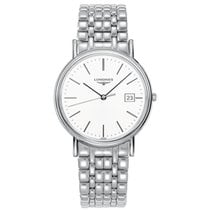 Longines Présence Steel 38.5mm White No numerals United States of America, New York, New York