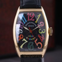 Franck Muller Color Dreams pre-owned 32mm Yellow gold
