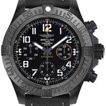 Breitling Plastic Automatic Black Arabic numerals 45mm new Avenger Hurricane