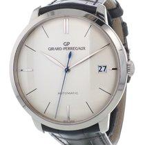 Girard Perregaux Or blanc 41mm Remontage automatique 49527-53-131-BK6A France, Lyon