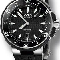 Oris ProDiver Date Titanium Black No numerals United States of America, New York, New York