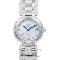 Longines PrimaLuna Steel 26.50mm Mother of pearl