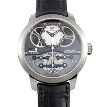 Girard Perregaux new Manual winding Display Back Center Seconds Power Reserve Display 48mm White gold