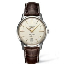 Longines Flagship Heritage Steel 38.5mm Champagne No numerals