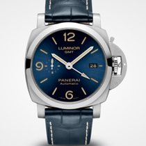 Panerai Luminor 1950 3 Days GMT Automatic Acero 44mm Azul