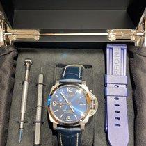 Panerai Luminor 1950 3 Days GMT Automatic nuevo 2021 Automático Reloj con estuche y documentos originales PAM 01033