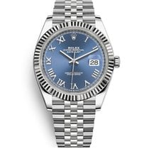 Rolex Datejust Gold/Steel 41mm Blue United States of America, New York, NEW YORK