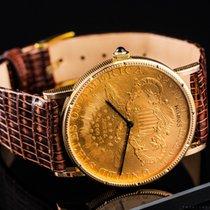 Corum Żółte złoto 35mm Manualny Coin Watch używany Polska, Warszawa