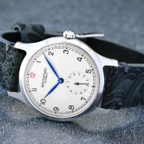 Hentschel Hamburg Silver 38,5mm Manual winding new